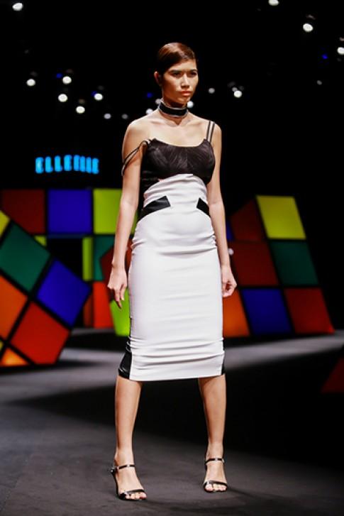 Kỹ thuật cut-out và đắp vải trong thiết kế của Kim Khanh