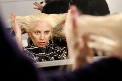 Lady Gaga lấn át dàn mẫu trong đêm thời trang Marc Jacobs