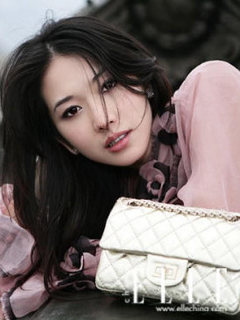 Lâm Chí Linh trang nhã trên Elle
