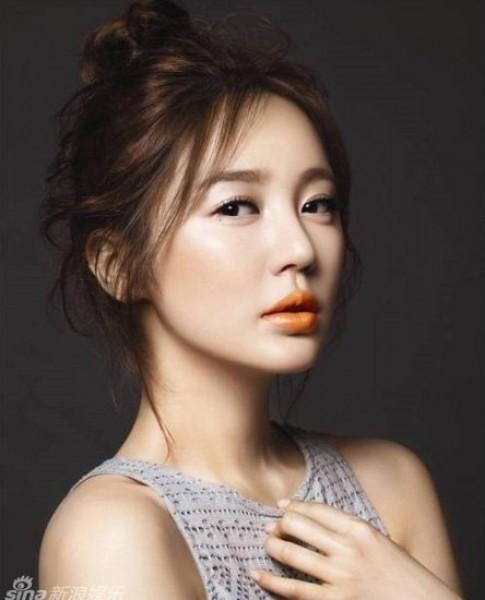 Làn môi căng mọng của Yoon Eun Hye