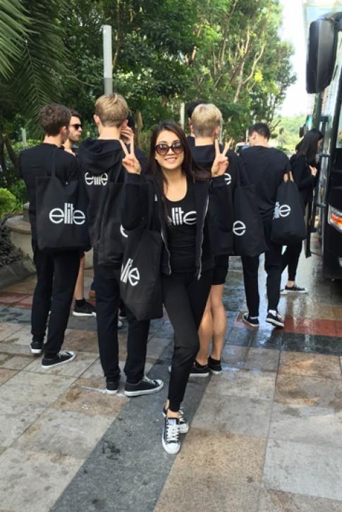 Lệ Hằng thuộc nhóm thí sinh 'già' tại Elite Model Look