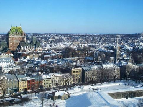 Le hoi mua dong lon nhat the gioi o Quebec, Canada