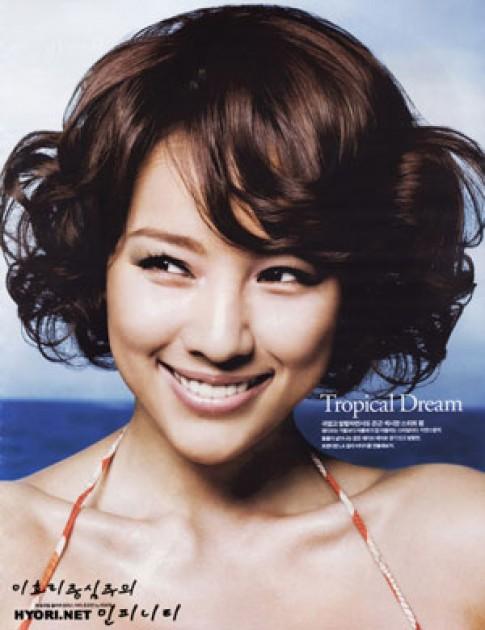 Lee Hyori - tóc kiểu nào cũng xinh