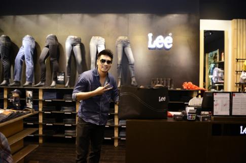 Lee khai trương cửa hàng lớn nhất tại Việt Nam
