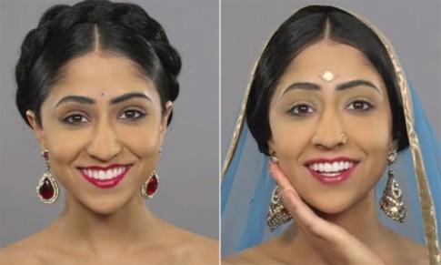 Lịch sử làm đẹp của phụ nữ Ấn Độ