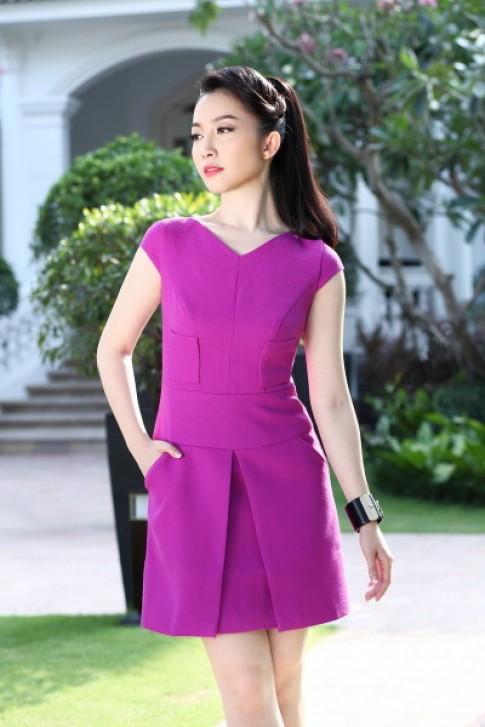 Linh Nga đón hè sớm với váy cocktail thoáng mát