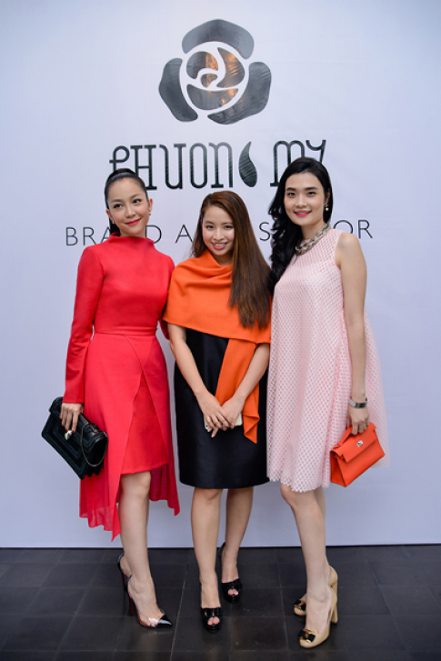 Linh Nga làm đại sứ thời trang Phương My