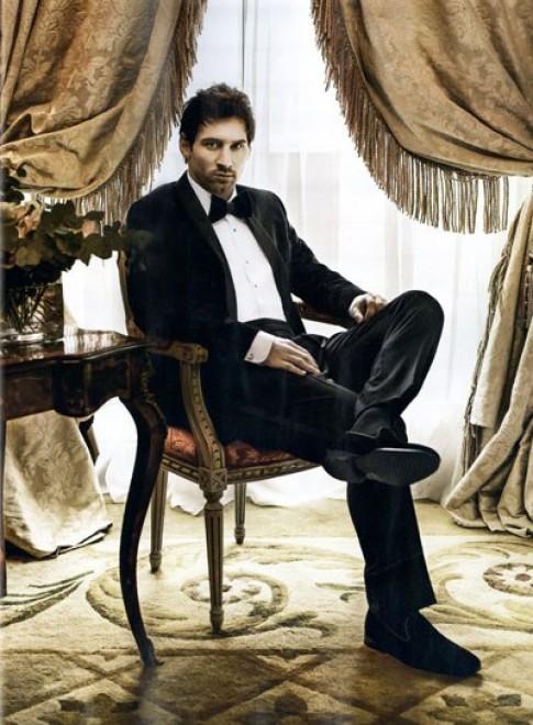 Lionel Messi sành điệu với thời trang Dolce