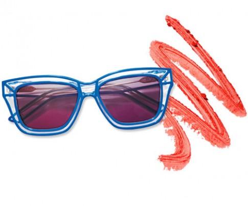 Lựa chọn kính râm phù hợp với màu son môi
