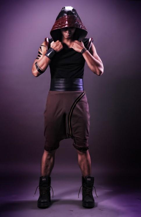 Mạnh Hiệp làm đấu sĩ trong thiết kế của Khôi Nguyên