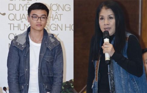Minh Hạnh nghẹn ngào vì nhà thiết kế 17 tuổi
