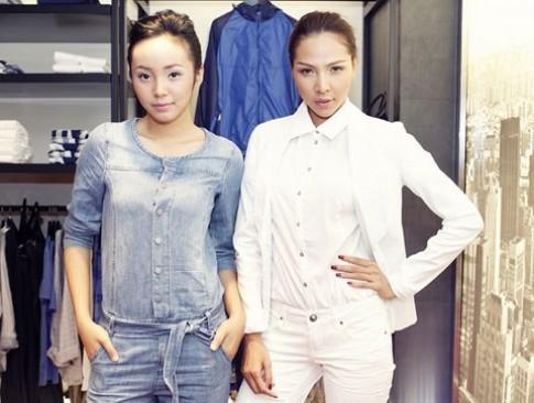 Minh Triệu, Bảo Trân diễn thời trang đường phố
