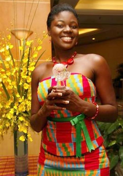 Miss Ghana tài năng nhất Miss World
