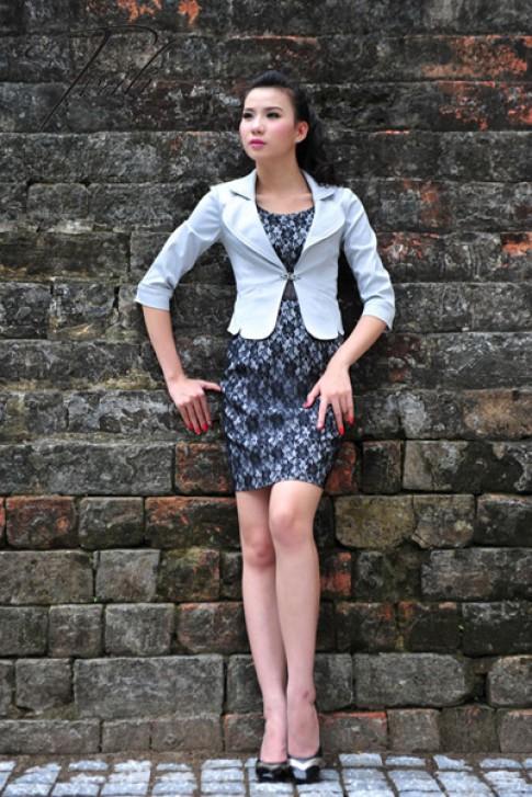 Mới lạ từ thời trang công sở Trali
