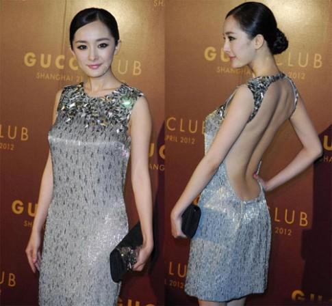 Muôn kiểu khoe lưng của mỹ nhân Hoa ngữ