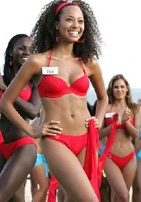 Mỹ đoạt giải Hoa hậu Bãi biển