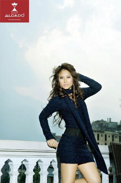 Nét cuốn hút của Hoa hậu biển Vân Anh