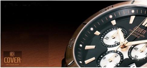 Nét sang trọng với đồng hồ Cover