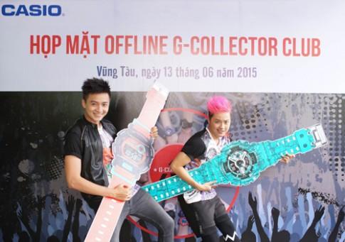 Ngô Kiến Huy và Thanh Duy cá tính với đồng hồ G-Shock