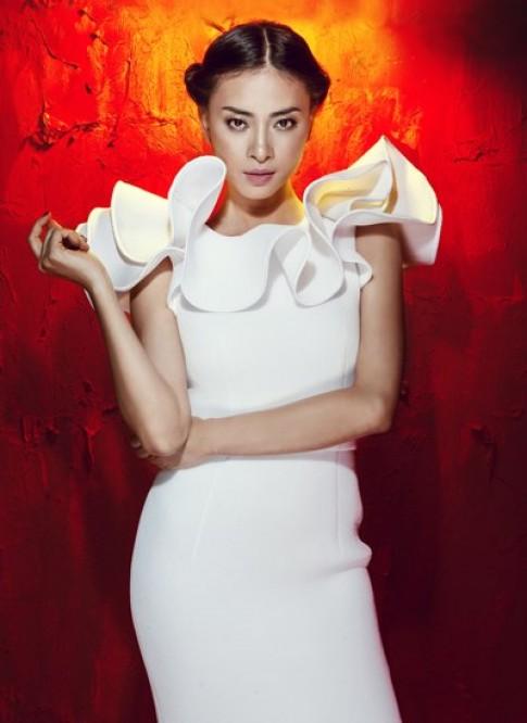 Ngô Thanh Vân chấm thi thiết kế thời trang