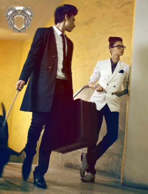Ngô Thanh Vân thiết kế thời trang nam