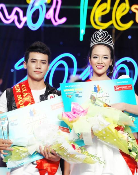 Ngọc Quý, Thanh Phú đoạt giải vàng Teen Model