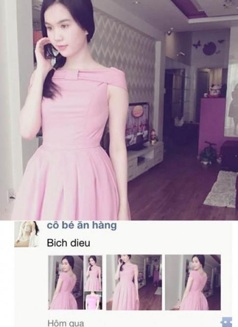 Ngọc Trinh may váy y hệt Maria Đinh Phương Ánh để bán