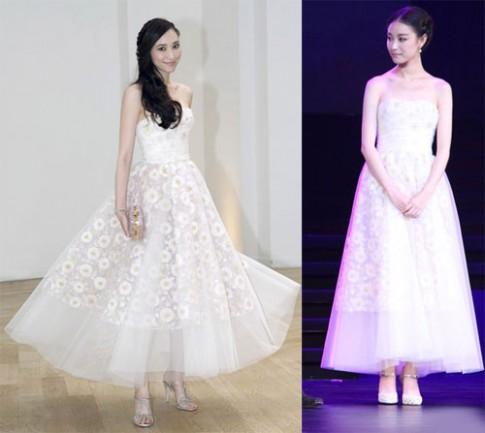Người đẹp châu Á thi nhau mặc lại váy