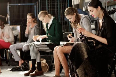 Người mẫu ăn như thế nào ở Tuần thời trang