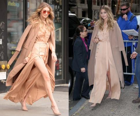 Người mẫu nội y Gigi Hadid mặc váy xẻ đùi đẹp nhất tuần