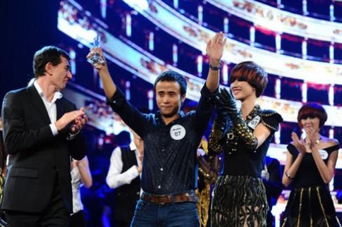 Nguyễn Trường Sơn đoạt giải nhất cuộc thi tóc Việt