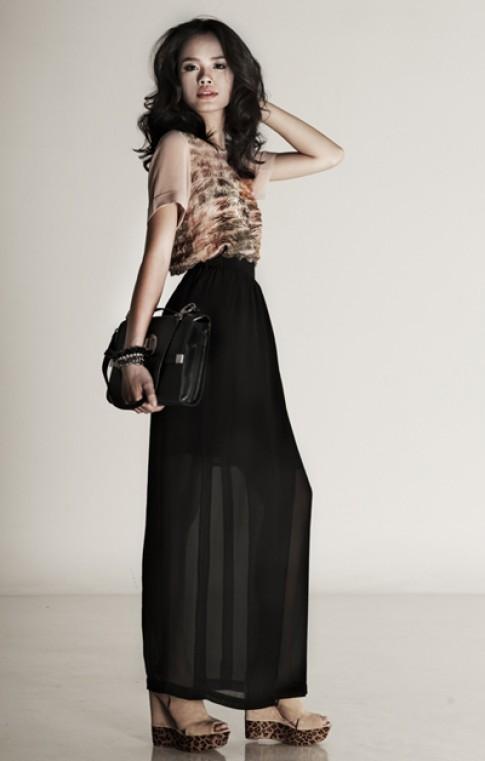 Nhà thiết kế Giao Linh tham gia Hanoi Fashion Week 2012
