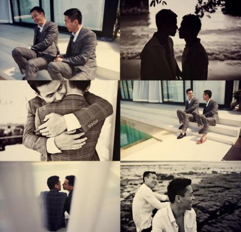 Nhà thiết kế Việt cưới người tình đồng giới