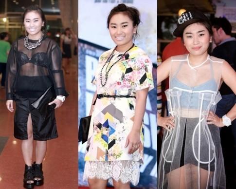 Nhật Thu, Hoàng Yến trở thành 'thảm họa thời trang' tháng 5