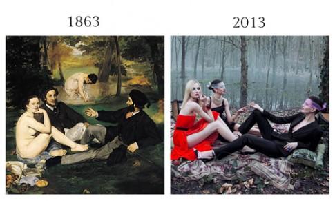 Những bộ ảnh thời trang bị 'tố' đạo, nhái ý tưởng