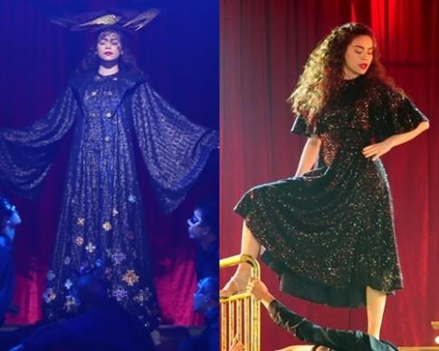 Những bộ váy áo ấn tượng của Hà Hồ ở live concert