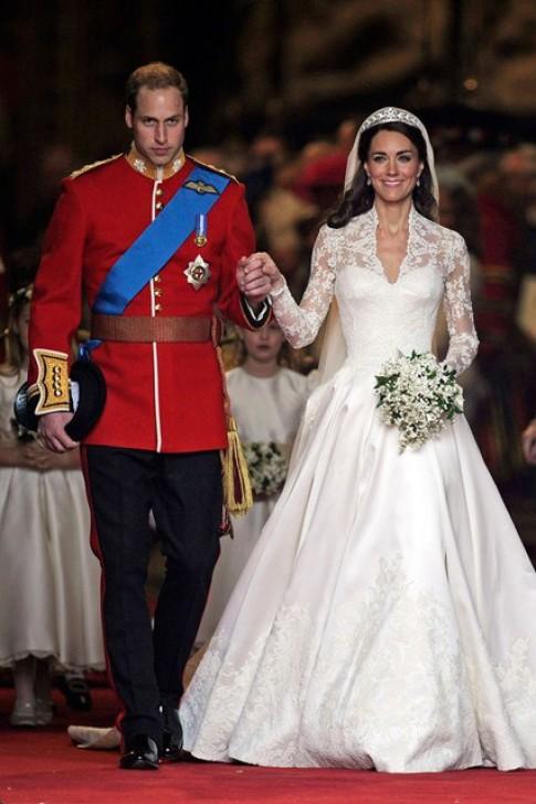 Những bộ váy cưới biểu tượng trong lịch sử