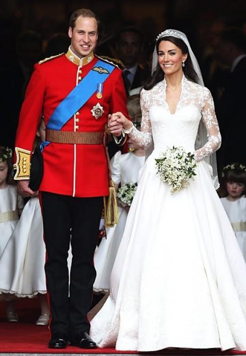 Những bộ váy cưới đẹp nhất trong lịch sử
