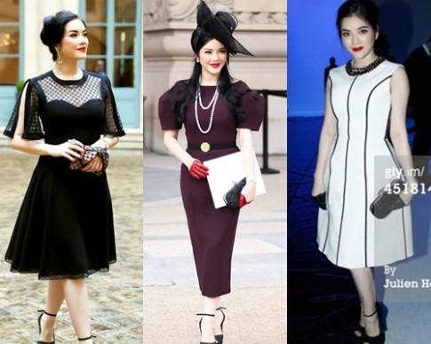 Những bộ váy đẹp nhất của sao Việt tuần qua