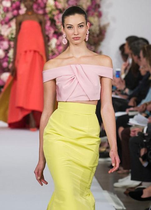 Những dáng áo crop-top gây chú ý ở New York Fashion Week
