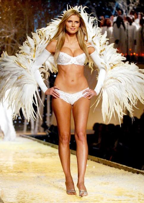 Những màn trình diễn của Heidi Klum cho Victoria's Secret