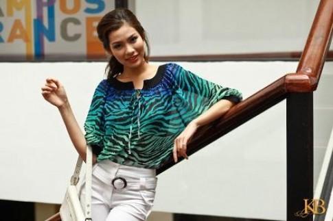 Những mẫu thời trang cách điệu của KB