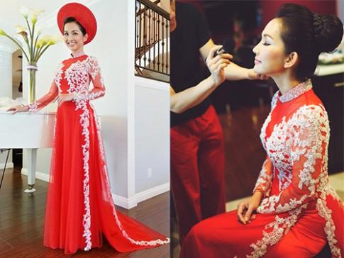 Những mẫu trang phục cưới 'đình đám' nhất của nhà sao Việt
