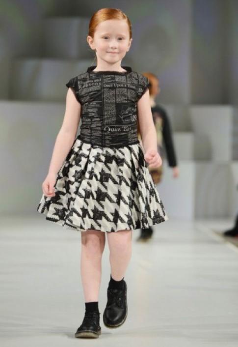Những thiết kế đẹp nhất tại Tuần thời trang trẻ em