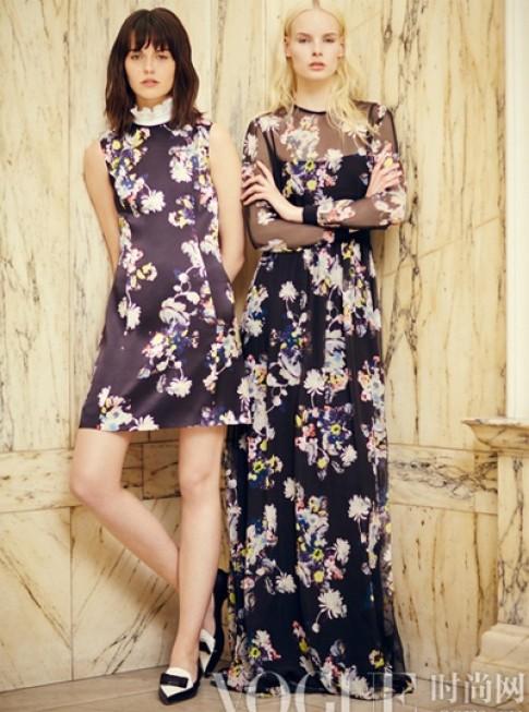 Những thiết kế váy hoa sang trọng