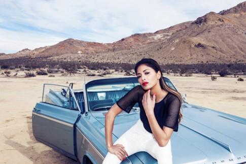 Nicole Scherzinger thiết kế váy áo quyến rũ