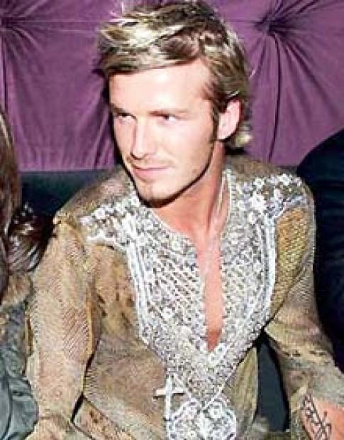 Nước hoa David Beckham 'hồi hương'