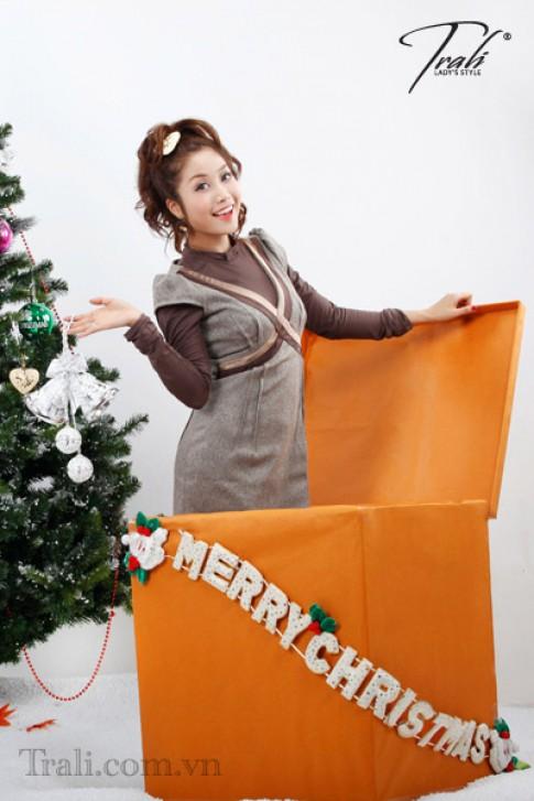 'Ốc' Thanh Vân cùng Trali đón Giáng sinh