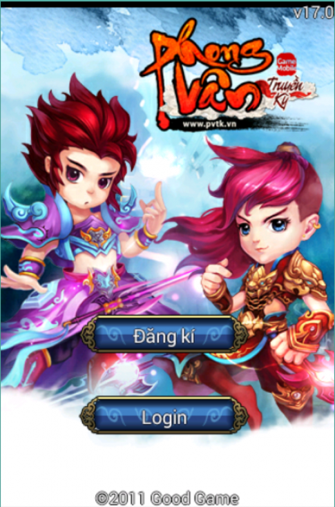 Phiên bản mới nhất của game Phong Vân Truyền Kỳ đã ra mắt