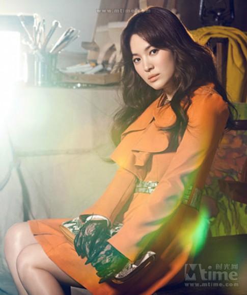 Phối đồ nữ tính như Song Hye Kyo